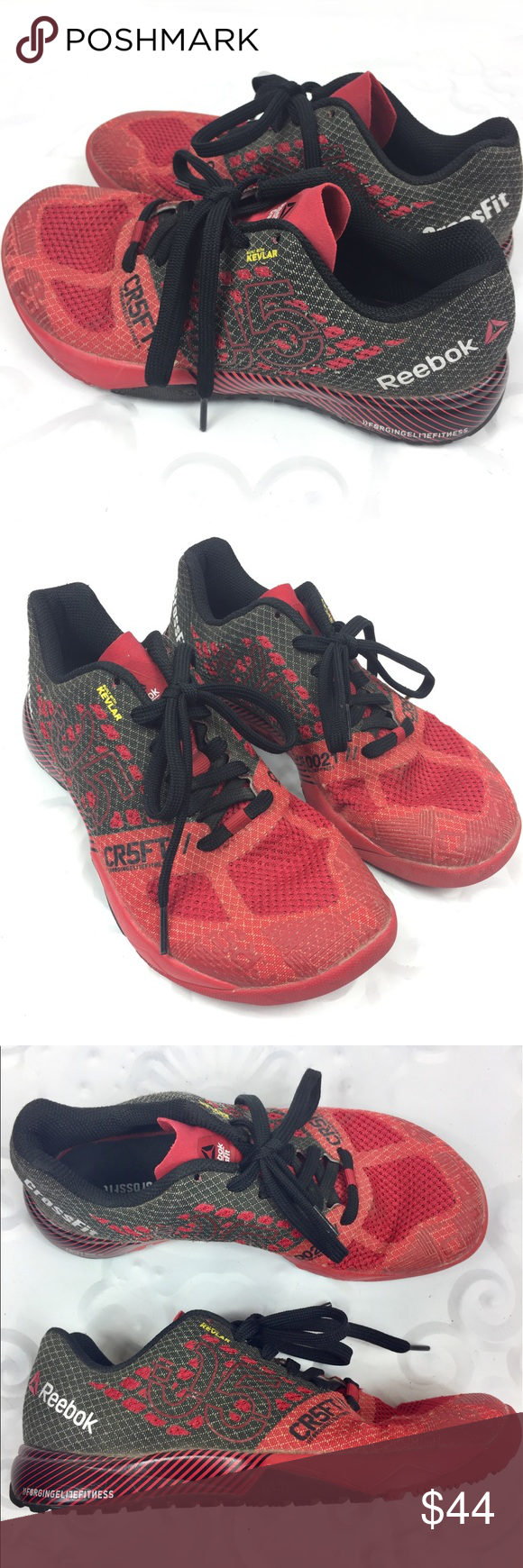 0bc9a2bb7df9 REEBOK CROSSFIT ATHLETIC SHOE LACE KID BOY 4 Boys size 4 or women s size  5.5 equivalent. Nice preowned condition! SKUC Reebok Shoes Sneakers