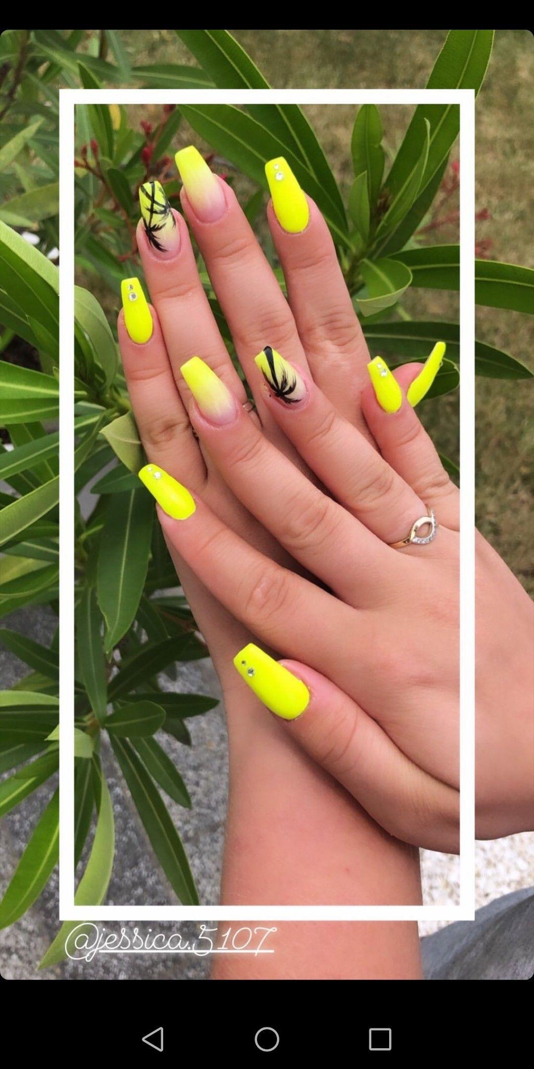 Paznokcie Neonowe Na Lato 2019 With Images Paznokcie