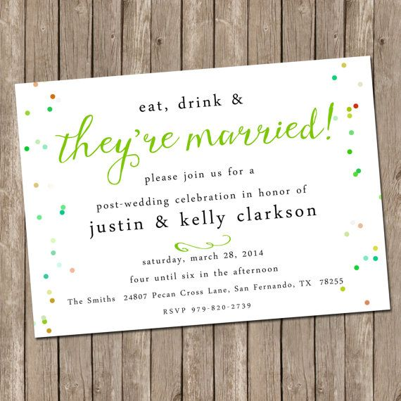 This Item Is Unavailable Etsy Post Wedding Brunch Invitations Wedding Brunch Invitations Wedding Celebration Invitation