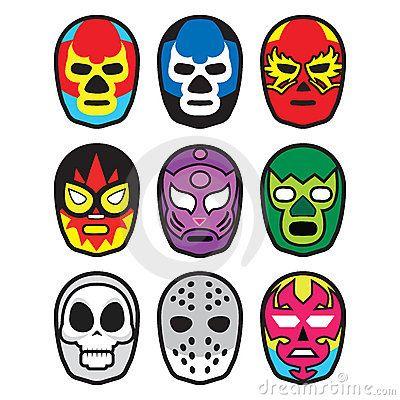 Pin De Vickie Gescheidle En I N K Lucha Libre Mascaras Lucha Libre Lucha Libre Mexicana