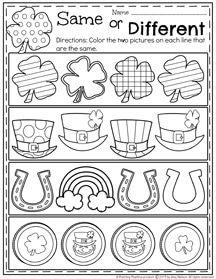 March Preschool Worksheets | Feinmotorik, Klasse und Kind