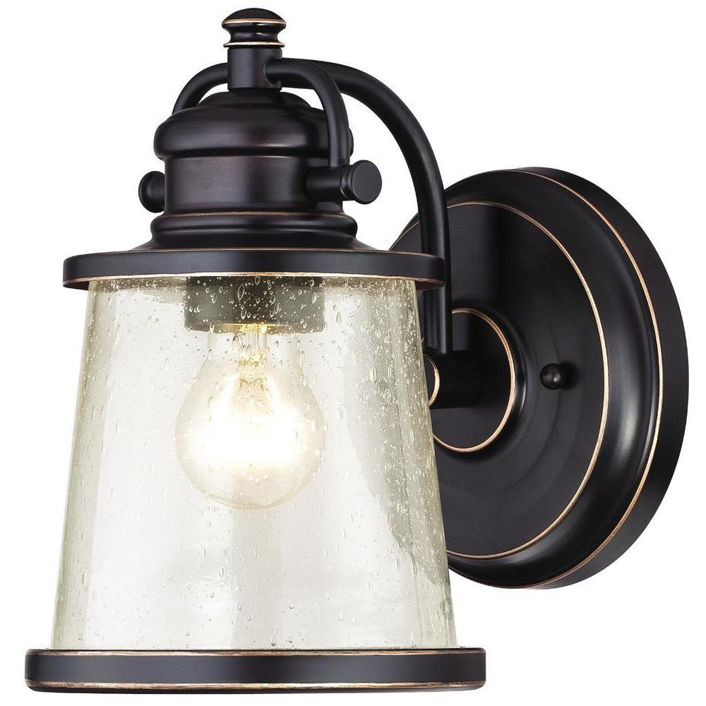Westinghouse Emma Jane Amber Bronze With Highlights Outdoor Wall Lantern Sconce 6204000 Wall Lantern Outdoor Walls Outdoor Wall Lighting