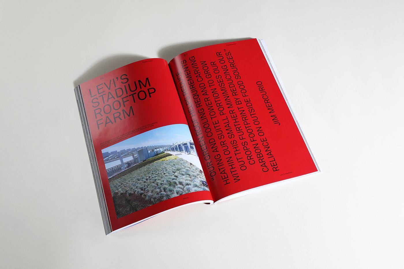 Public Menu Magazine On Behance Editorial Design Public Magazine