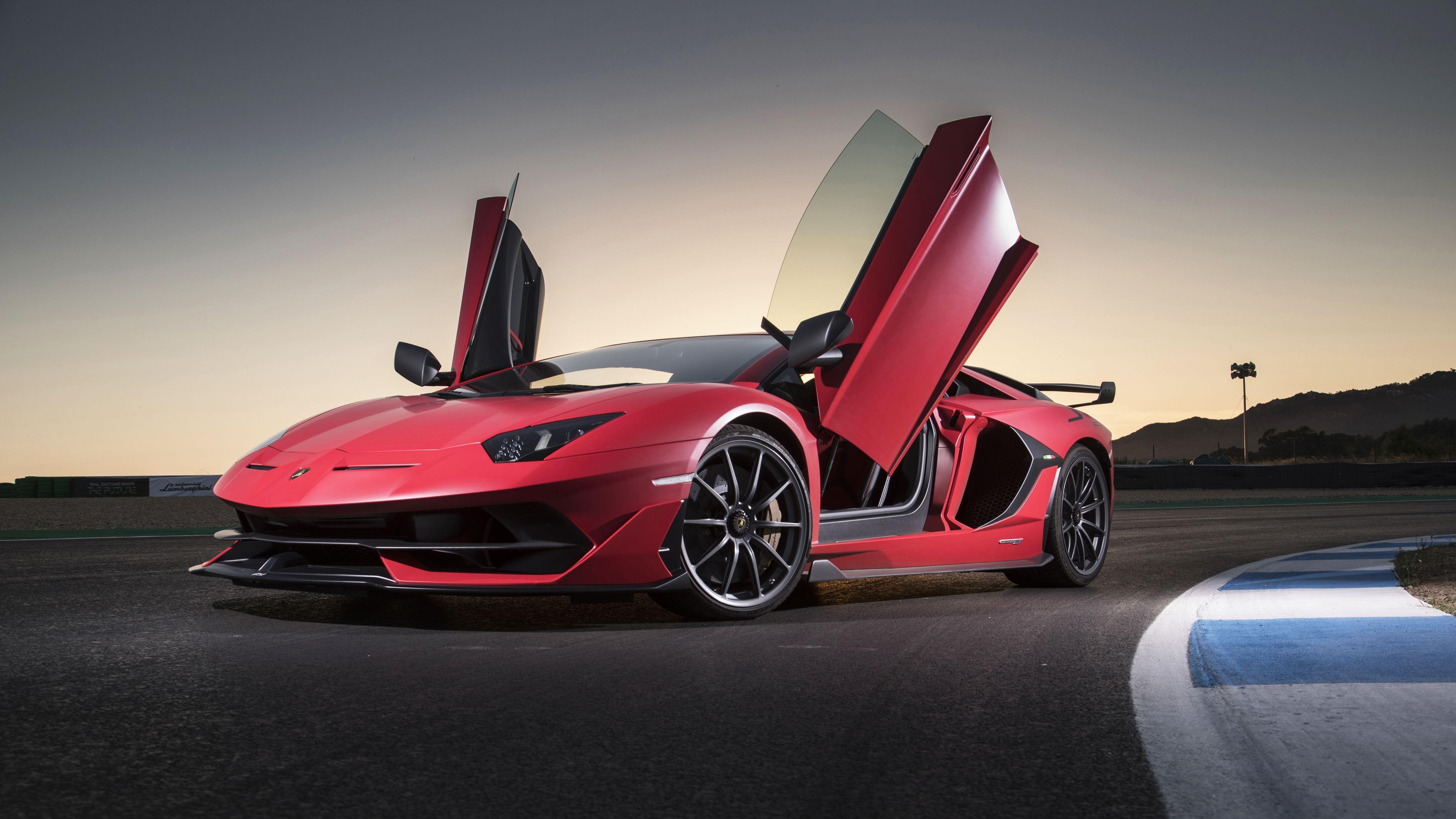Lamborghini Aventador Svj 2019 4k With Images Lamborghini