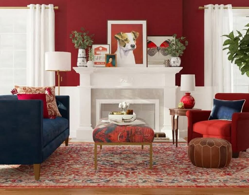 30 Red Living Room Ideas 2020 For Vibrant Atmosphere In 2020 Living Room Red Red Living Room Decor Red Furniture Living Room #red #furniture #living #room