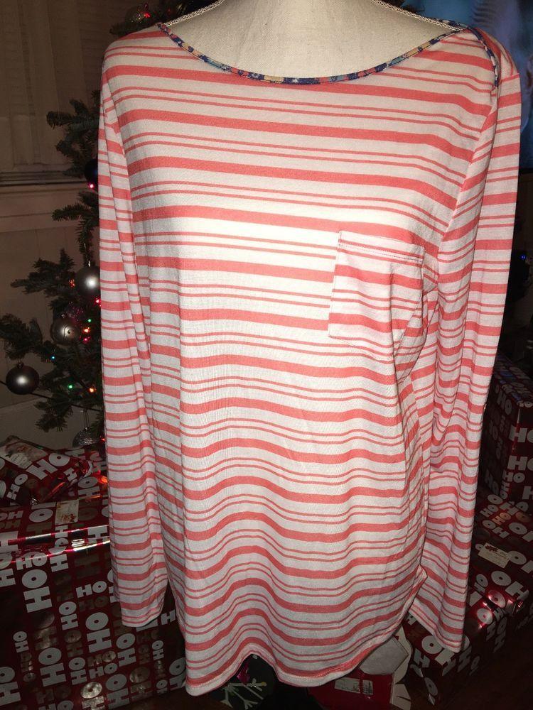d3f10573ab71d Womens Rebecca Malone XL Long Sleeve Shirt  fashion  clothing  shoes   accessories