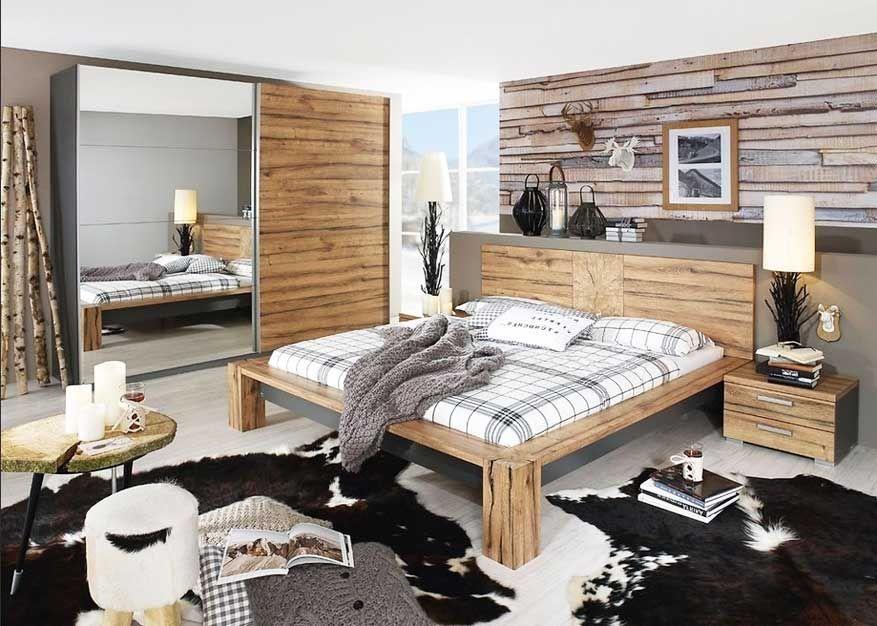 Günstige Schlafzimmer ~ Ein helles schlafzimmer mit malm bettgestell hoch mit schubladen