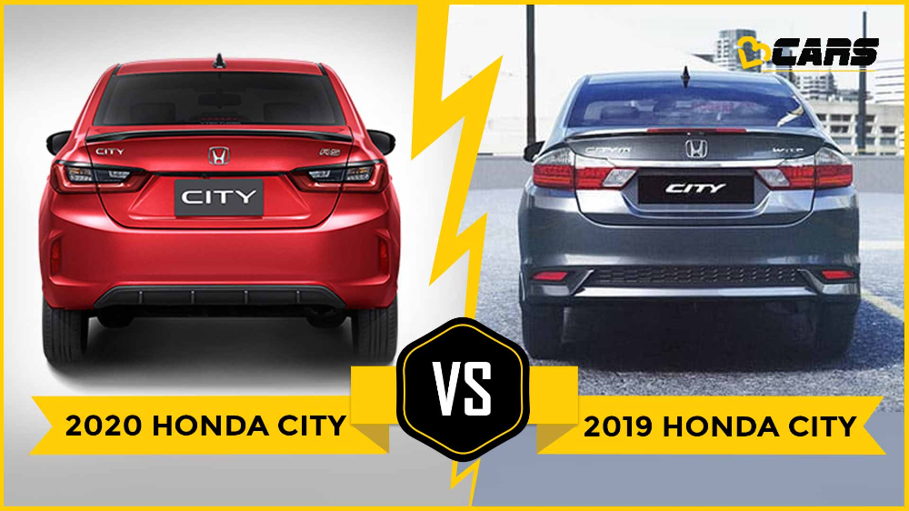 The 2020 Honda City Has Been Revealed For Thailand The New Model Which Is The Fifth Generation City Is Expected To Come To India By Mi Honda City Honda City