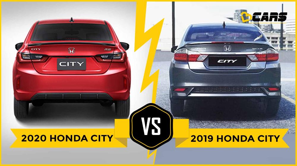 2019 Honda City Vs IndiaBound 2020 Honda City Old Vs