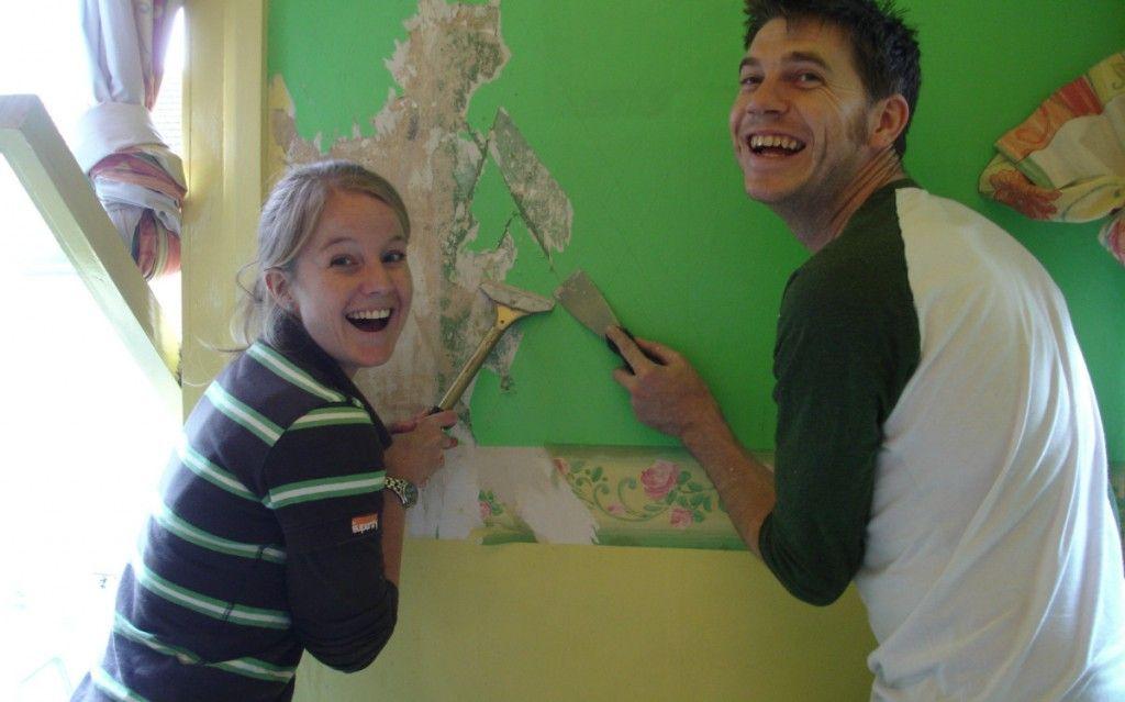 Comment décoller du papier peint ? | Décoller papier peint, Papier ...