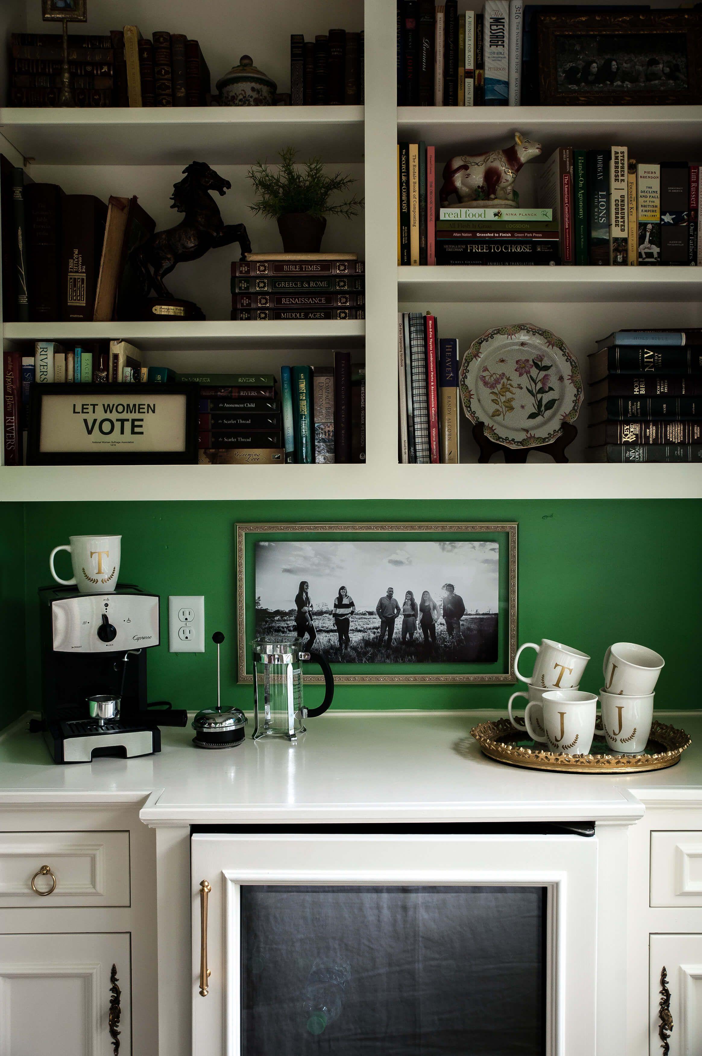 Coffee Bar Master Suite Jenny Tamplin Interiors 4