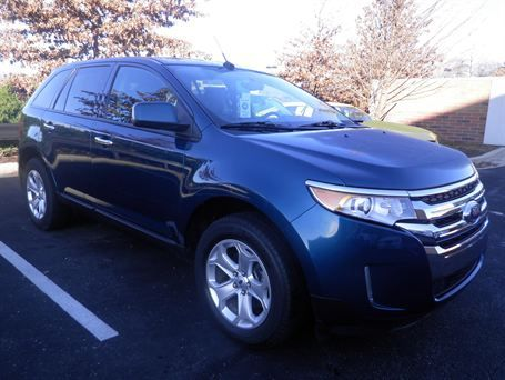 Ford Edge Sel In Indianapolis In  At Carmax Com