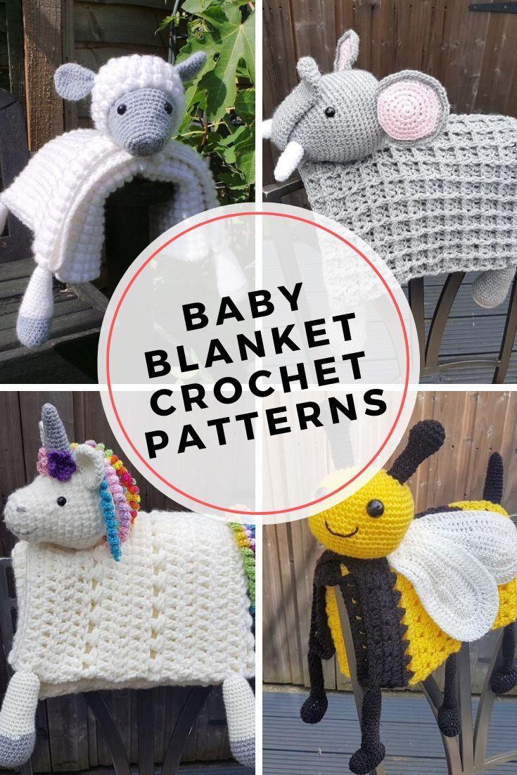 9 Adorable Animal Baby Blankets You Can Crochet