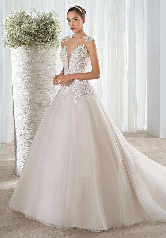 Demetrios 632 Ball Gown Wedding Dress | Novia | Pinterest | Tulle ...
