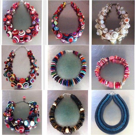l'ultimo 62bee fd12b Gioielli fai da te: come fare collane con i bottoni | bijoux ...