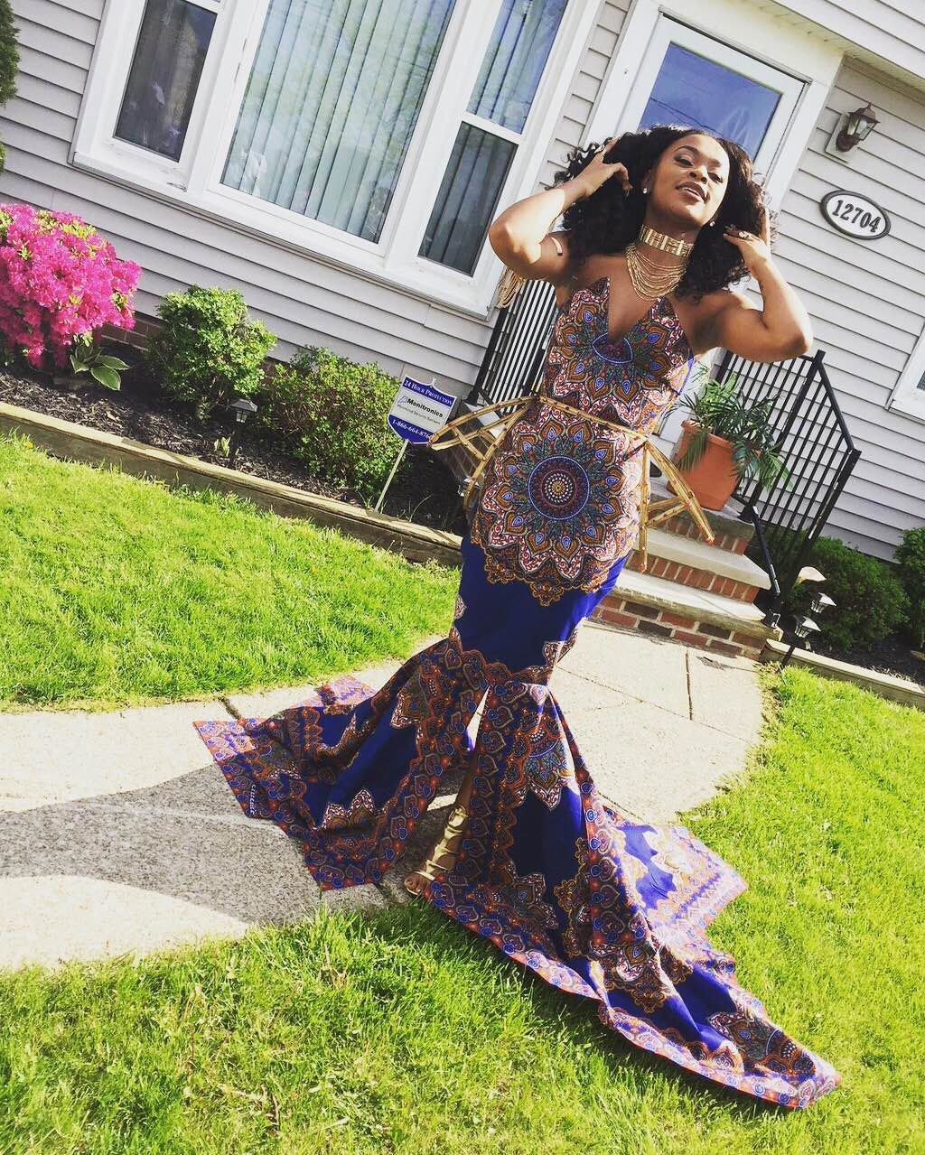 fdae0ed062 This 18-Year-Old Shut Down Her Teacher by Wearing This Gorgeous African  Print…