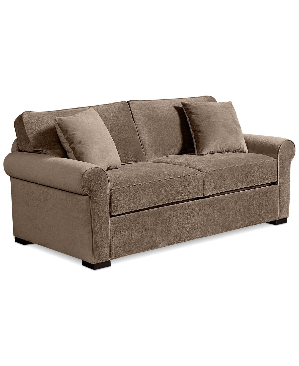 Remo Ii Fabric Full Sleeper Sofa Bed Custom Colors Couches Sofas Furniture Macy S Full Sleeper Sofa Sleeper Sofa Sofa Bed Furniture