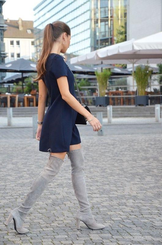 OUTFIT: THE OVERKNEE | Véjà Du Modeblog aus Deutschland / Fashion Blog from Germany