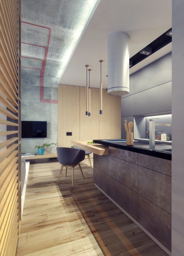 3 studio apartments under 50sqm for city dwelling couples including floor plans