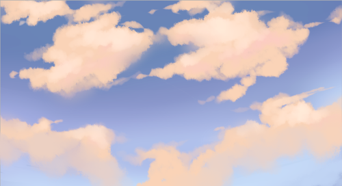 the single greatest cloud brush I've worked with so far oh
