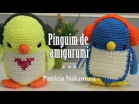 Faça você mesmo AMIGURUMI  4  pinguim de crochê fácil e rápido! - YouTube aa660d490a3