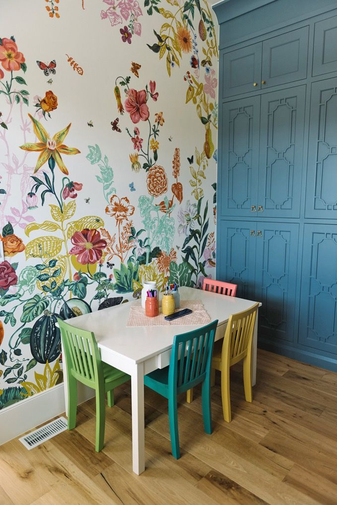 Great meadow mural by anthropologie children room and for Anthropologie wallpaper mural