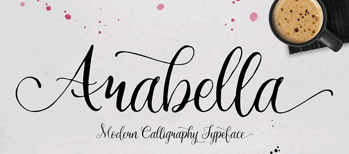 20 Beautiful & Free Hand-Drawn Fonts   Printables   100 ...
