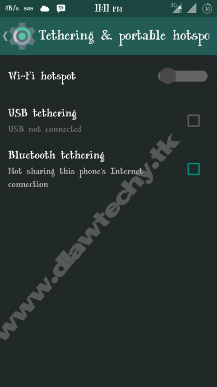 HOW TO SHARE VPN NETWORK FROM MOBILE TO PC USING DF TETHERING FIX