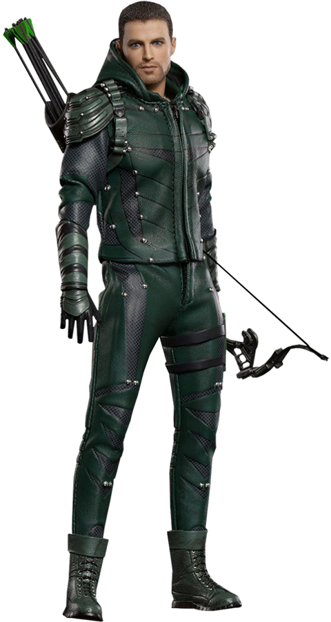 The Green Arrow Deluxe Collectible Figure Green Arrow Action Figures Hot Toys Action Figures Collection