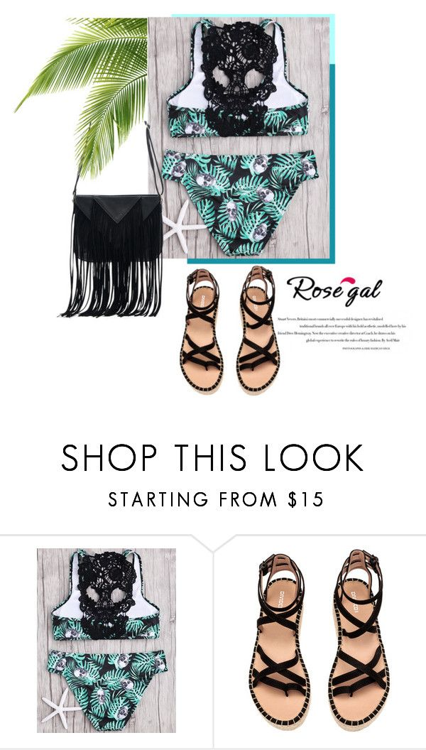 """tropic style"" by andrej-2711 ❤ liked on Polyvore featuring WithChic"