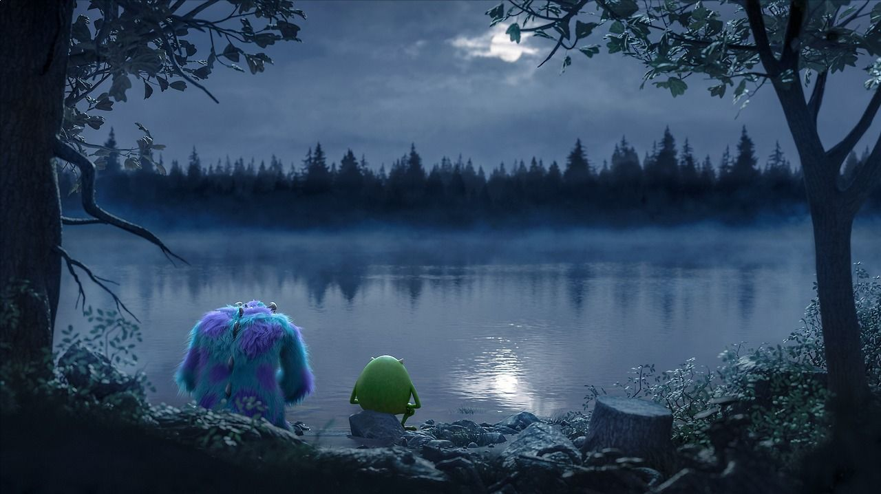 """""""We liked the idea that when a monster goes into the human world, it's their version of a horror movie."""" - """"Monsters University"""" director, Dan Scanlon"""