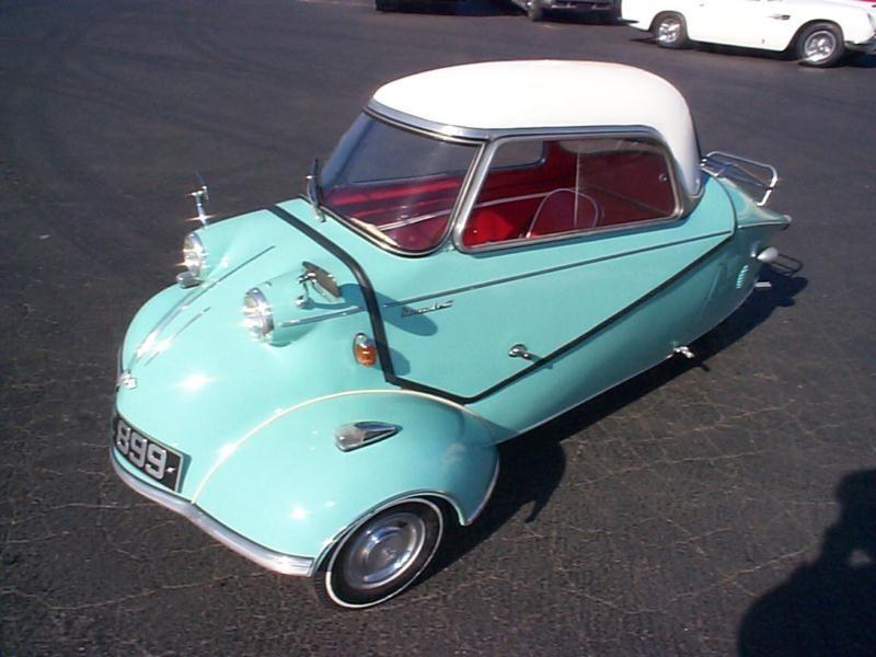 1956 Messerschmitt KR200 Hagerty Classic Car Price