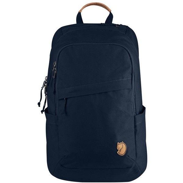 Men's Fjallraven 'Raven 20L' Backpack (370 MYR) via Polyvore featuring men's fashion, men's bags, men's backpacks, navy and mens backpack