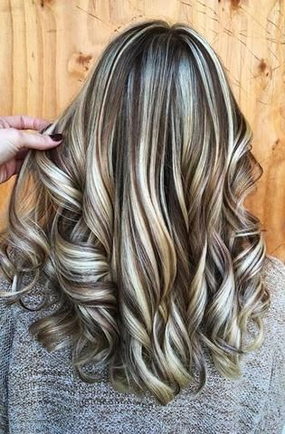 Huamn Hair Wigs For White Woman Wig Hairstyles Brown Hair With Blonde Highlights Brown Blonde Hair