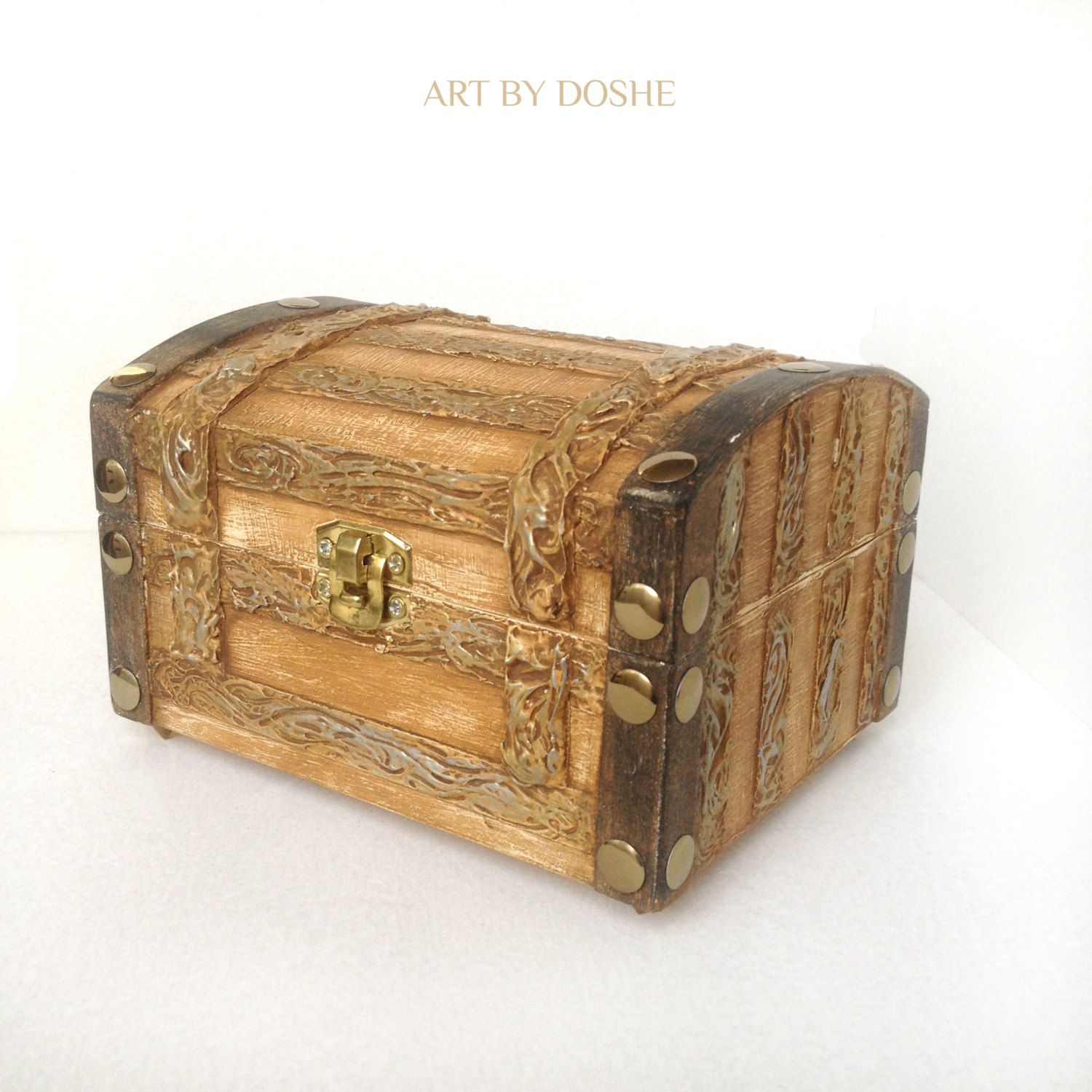 Exceptional Cool Wooden Trunk For Special Little Things / Storage Trunks / Coffers /  Wooden Trunks /