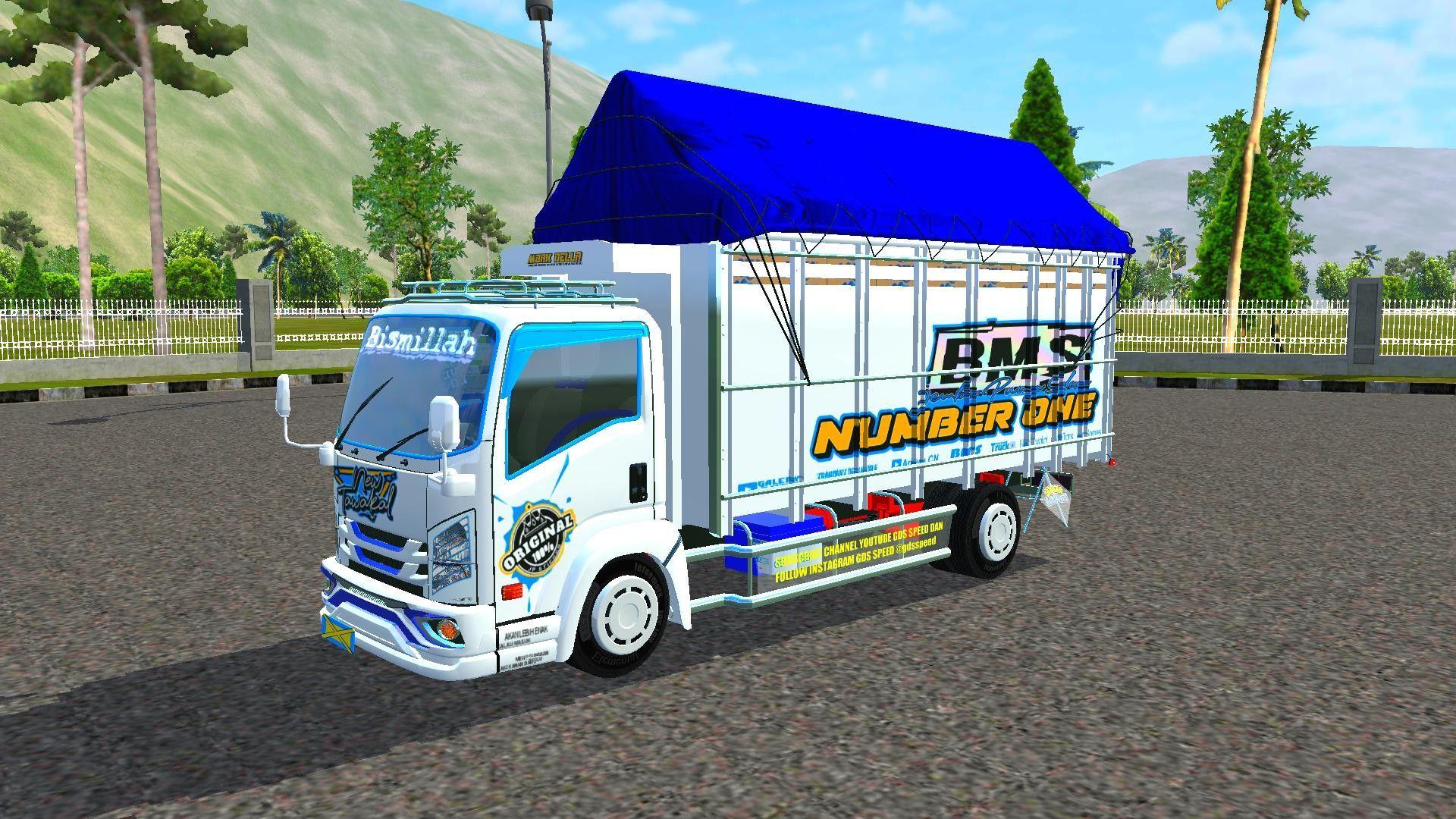 Mod Bussid Truck Terkeren New Tawakal 5 Konsep Mobil Mobil Futuristik Truk Besar