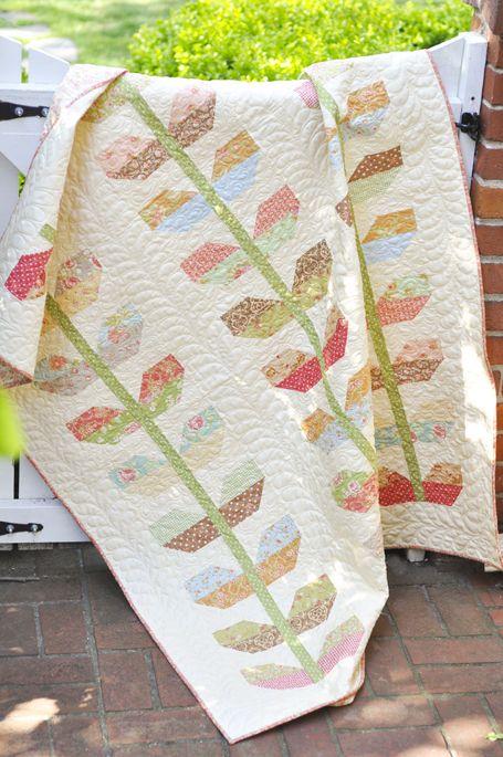 Stems, love love love this quilt
