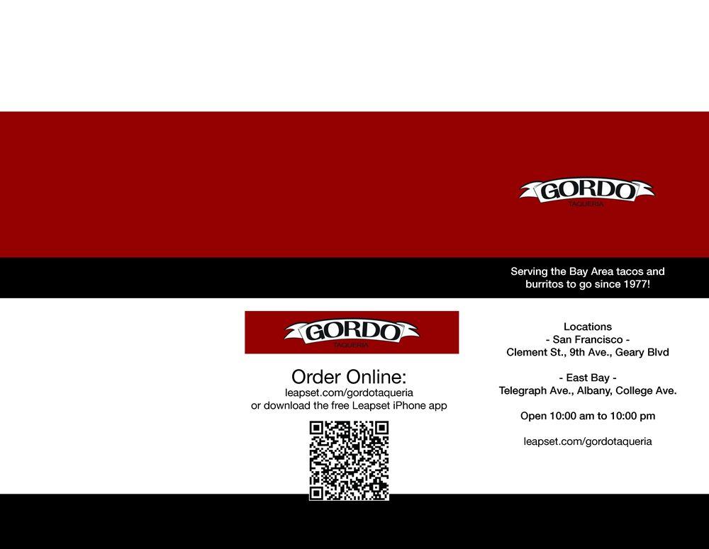 Restaurant To-Go Menu Graphic Design Services for Mexican Restaurant