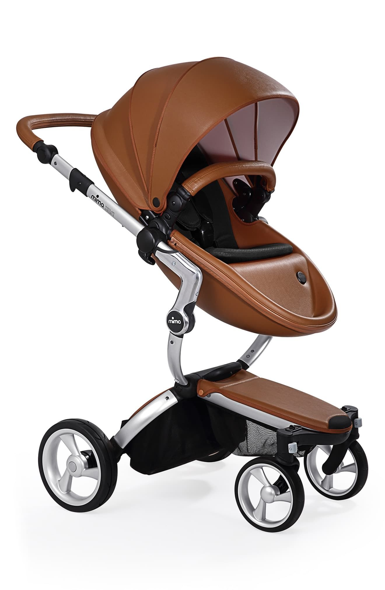 Infant Mima Xari Aluminum Chassis Stroller With Reversible