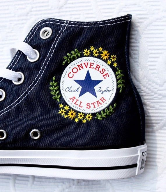 Love The Idea Of Adding Small Patches To Your Shoes To