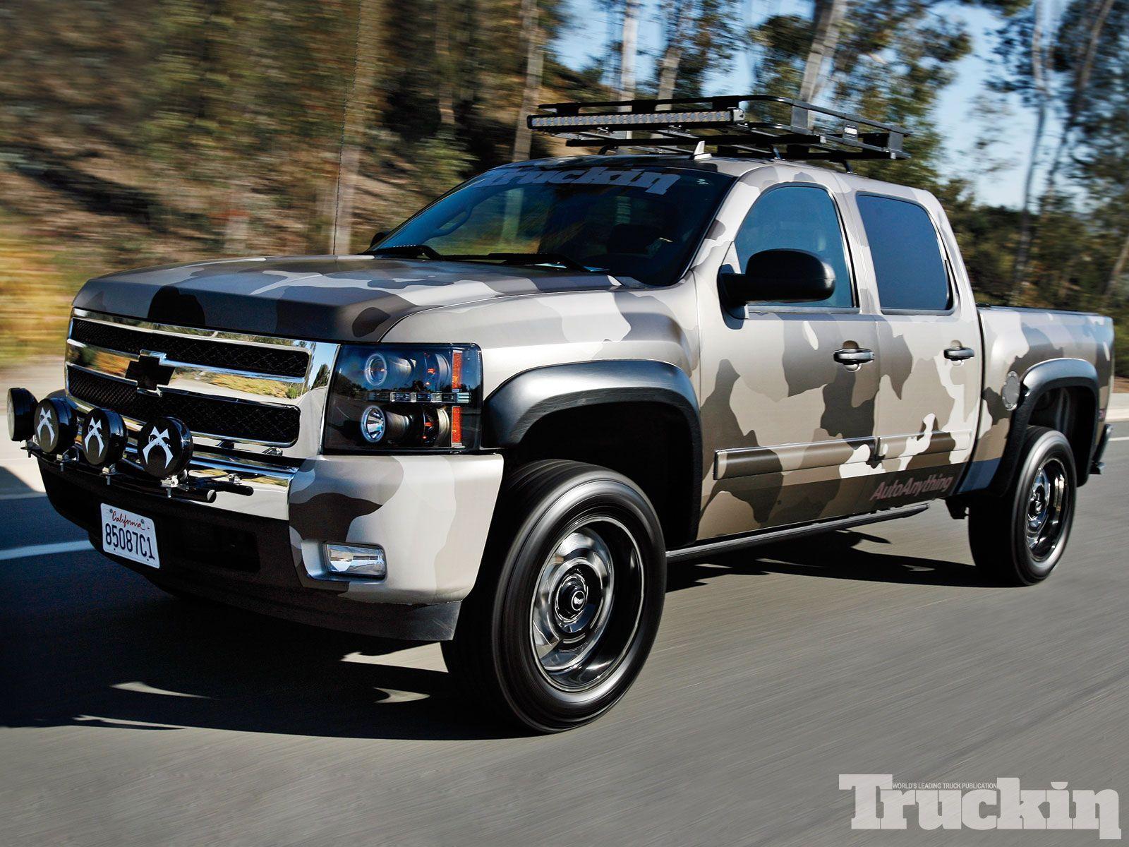Project 12 Gauge 2011 Chevy Silverado Trucks 4x4