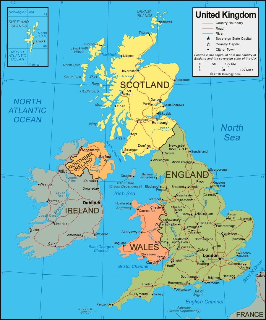 Pin by Kaitlyn on travel | Map of britain, United kingdom ...
