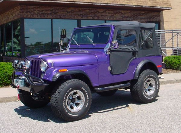 Don T Mind If I Do His And Hers Yes It S Purple Not Girly Pink Awesome Purple To Go With My Midlife Crises Purple Jeep Purple Jeep Wrangler Jeep