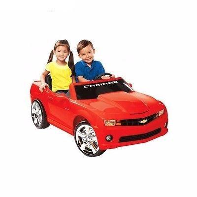 New Kids Red 12v Npl Chevrolet Camaro Ride On Car Racing Electric Mp3 Radio Toy Red Camaro Chevrolet Camaro Ride On Toys