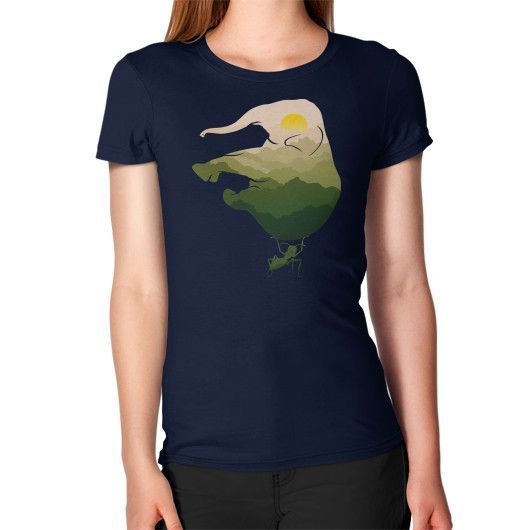 Save Elephant Women's T-Shirt