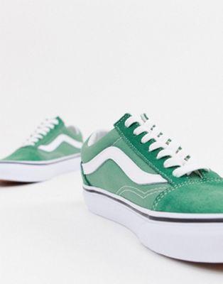 chaussure vans sneakers vert