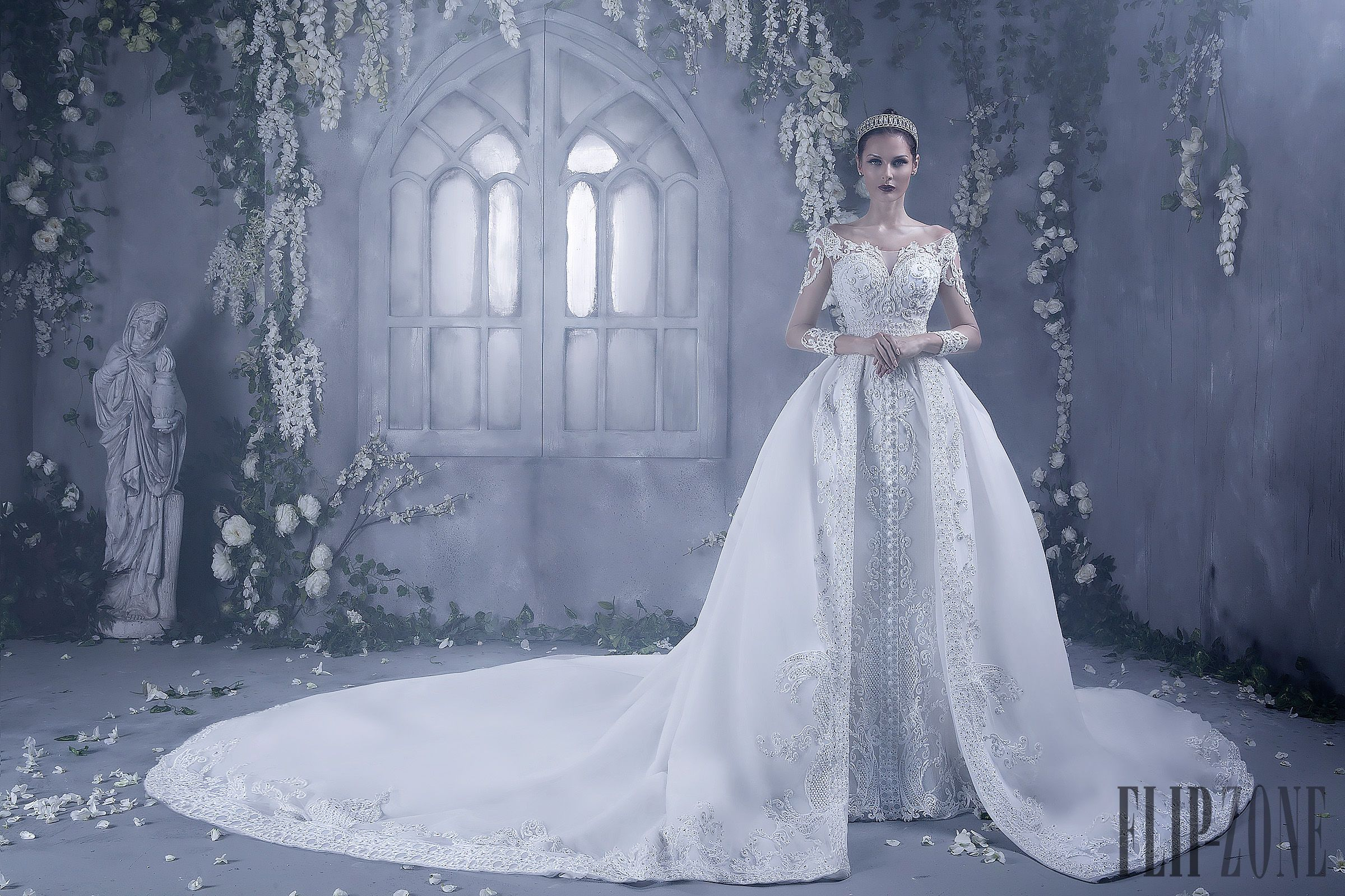Dar sara fallwinter bridal hochzeit gowns and wedding