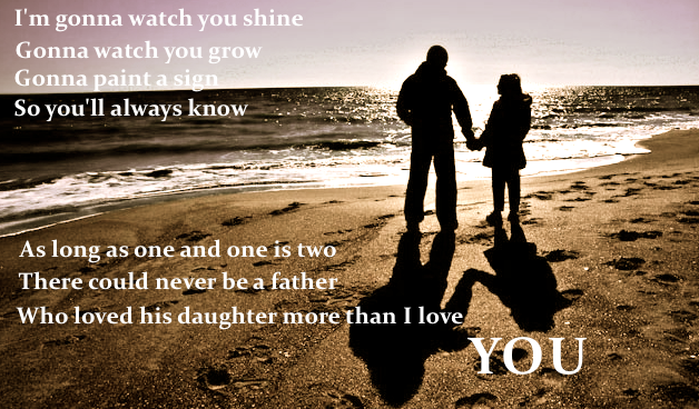 father and daughter Chris for Aubrey