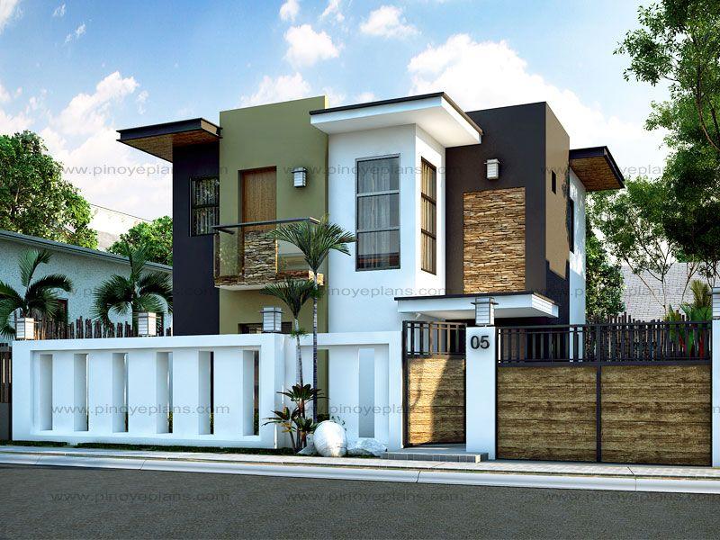 Modern House Design Series Mhd 2015016 Pinoy Eplans Modern House Design House Design Pictures Small Modern Home