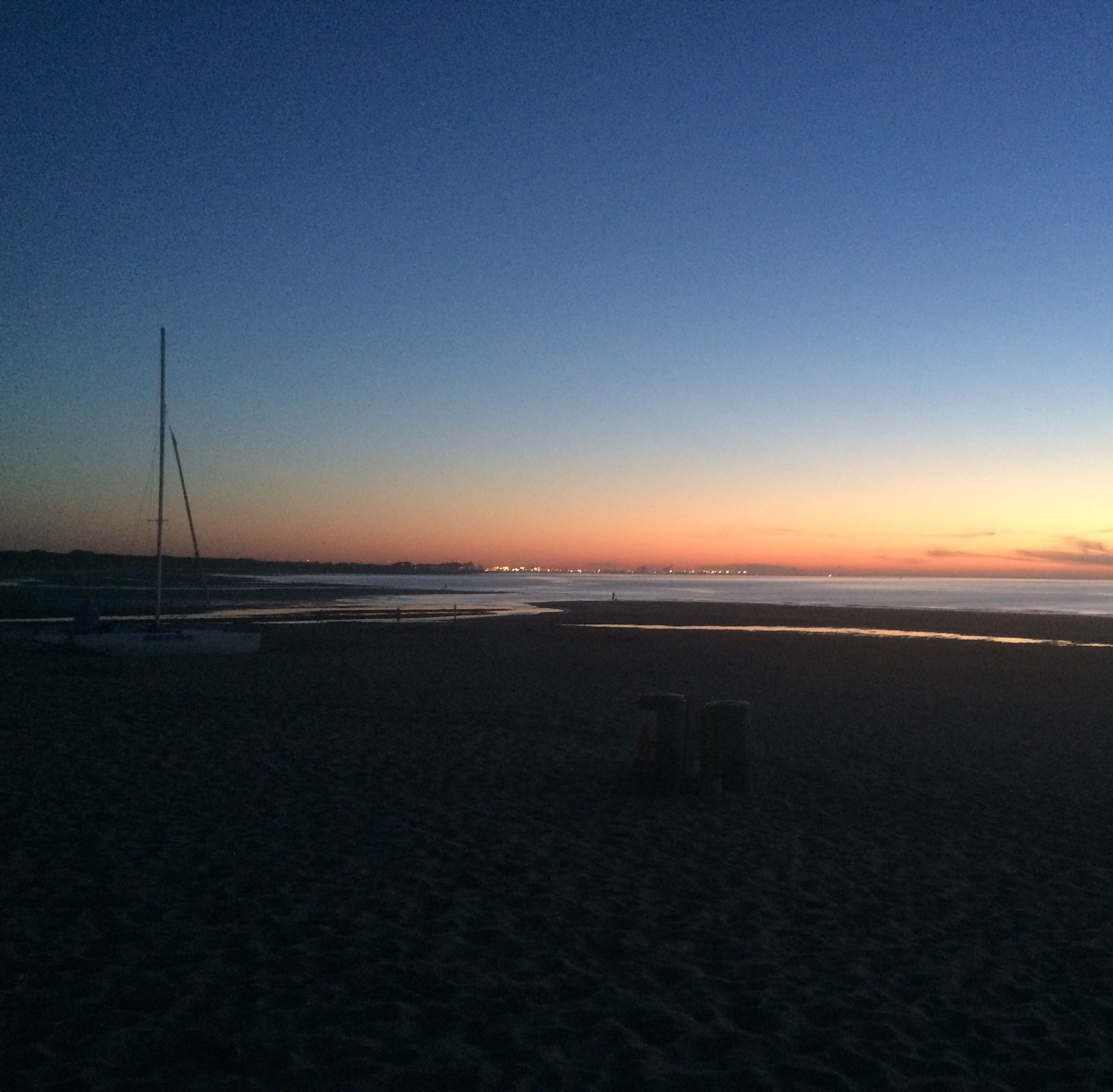 Cadzand Bad /Zeeland Sonnenuntergang